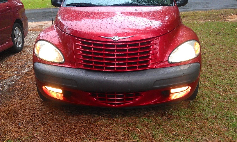And Now She Has Fog Light Again Just Like The Good Folks At Chrysler Intended